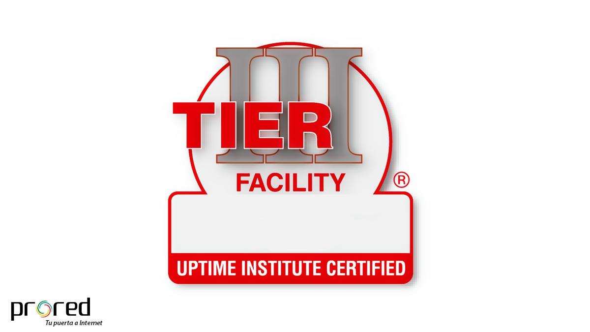 Certificación TIER