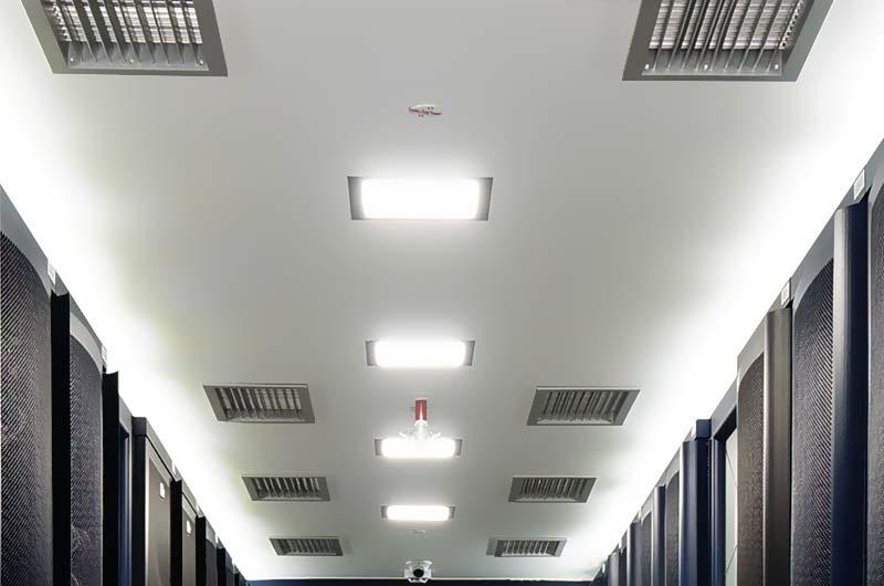 Compuertas activas en las salas de servidores del Data Center de PRORED