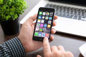 iPhone subiendo fotos a iCloud