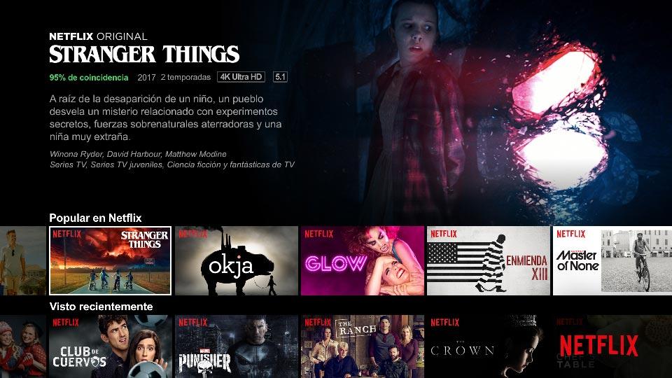 Contratar Netflix