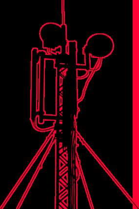 antena de comunicaciones para radio enlace empresarial