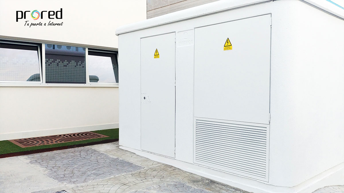 Nueva estación de transformación de media tensión para el data center de PRORED