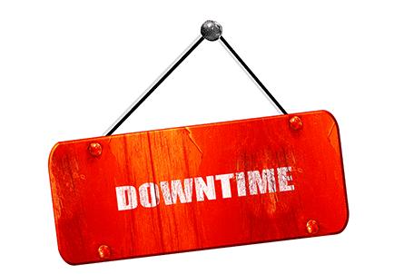 Downtime o tiempo de caída del servidor