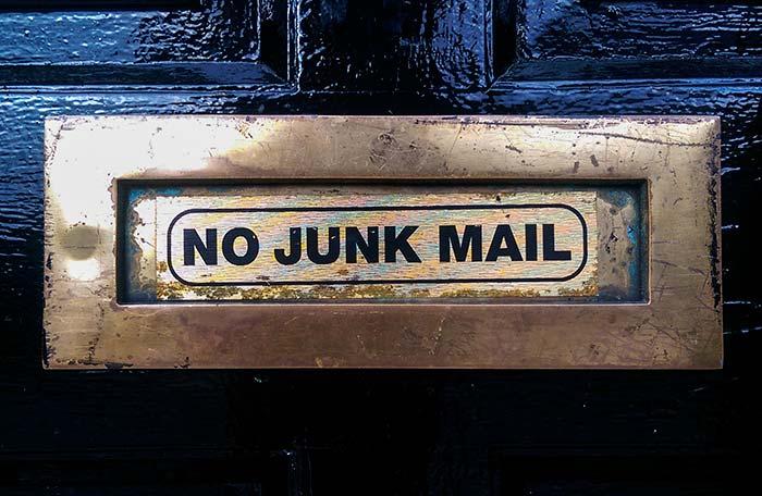 Filtro para correo no deseado