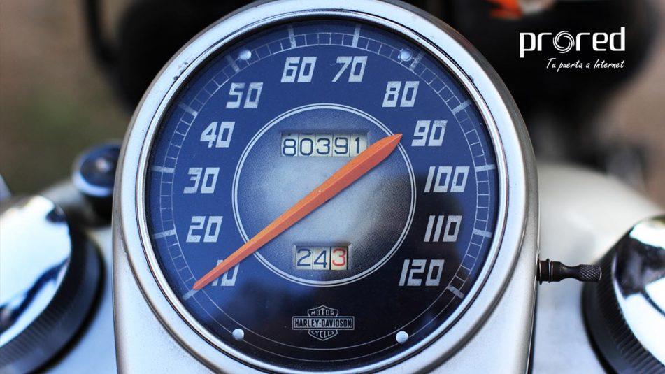 Prueba o test de velocidad de una página web