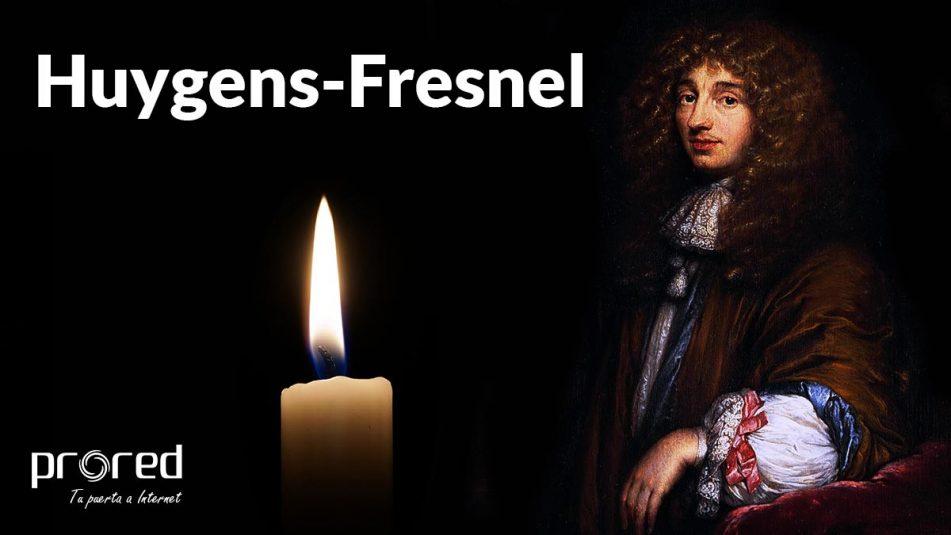 El principio de Huygens-Fresnel