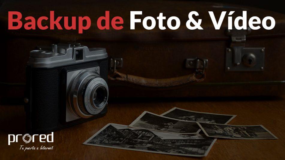Backup copia seguridad fotos y vídeos