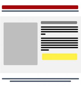 Ejemplo de esquema de landing page en inbound marketing
