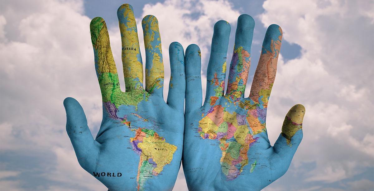 Ubicación en el mundo