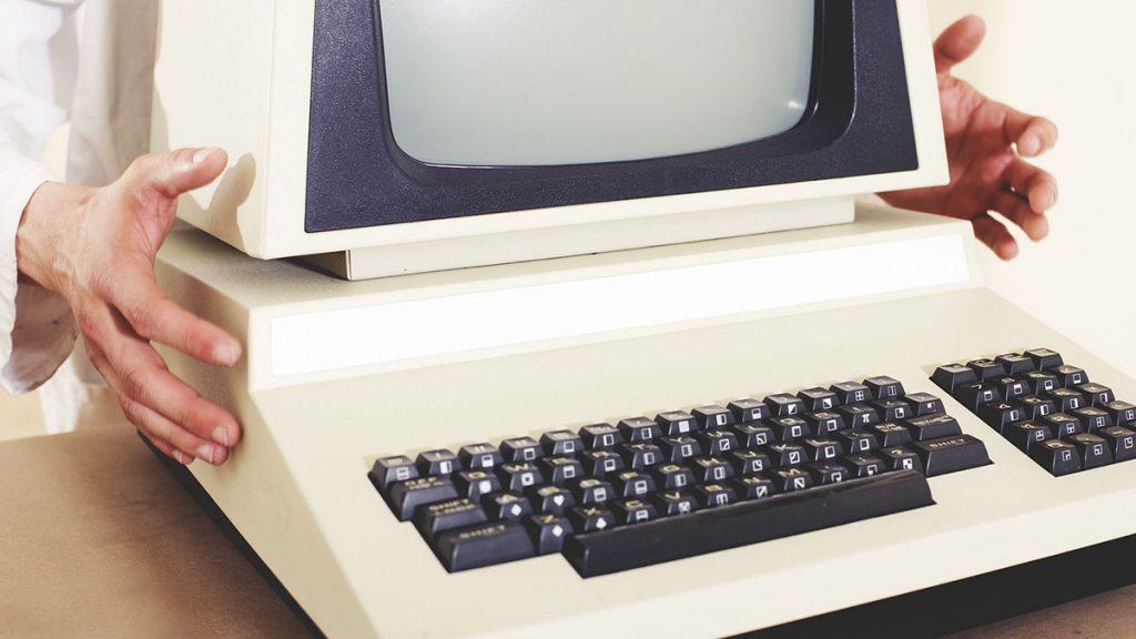 Computadora de los 80
