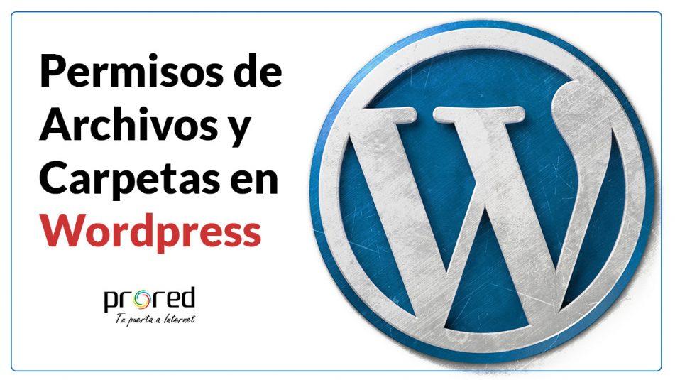 Permisos defecto archivos y carpetas Wordpress
